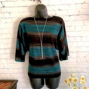 🔥 Style & Co Pretty Turquoise Top